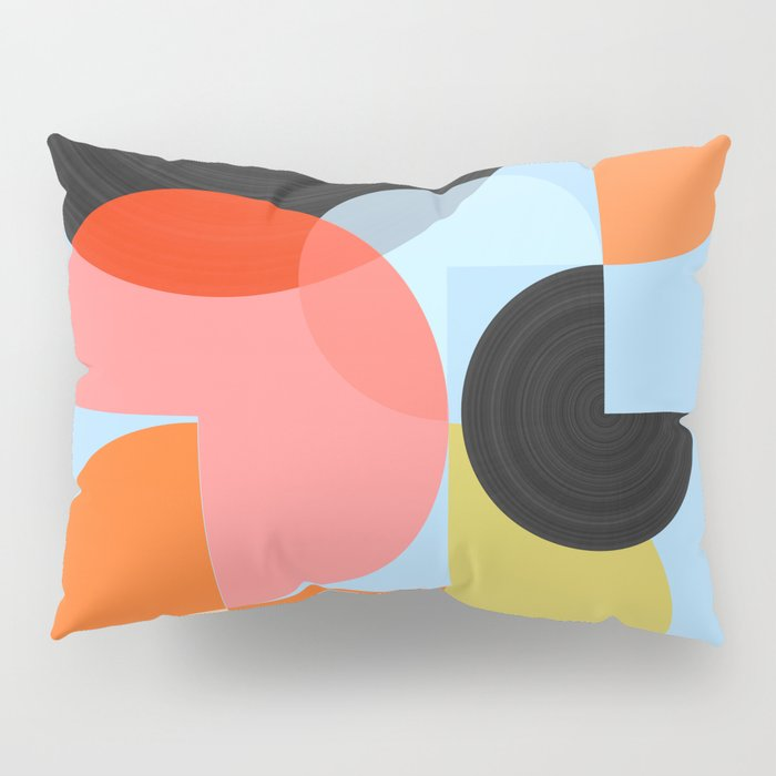 Abstract Composition 624 Pillow Sham