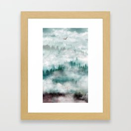 Himalayan soaring Framed Art Print