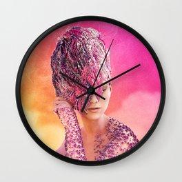 Day at the beach Wall Clock