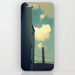 Chicago Clouds and Smokestack iPhone Skin