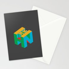 HN Logo Cube Stationery Cards