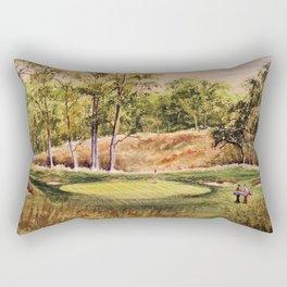 Merion Golf Course 17th Hole Rectangular Pillow