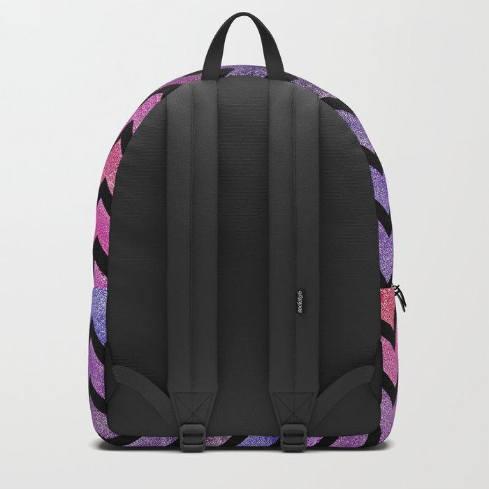Glitter Chevron II Backpack