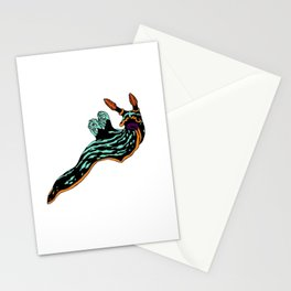Bright Nudibranch Stationery Cards