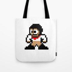 8-bit Andres Pose 1 Tote Bag