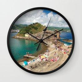 Islet of Vila Franca do Campo Wall Clock