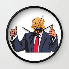 Trumpvirus / Trump's America Wall Clock