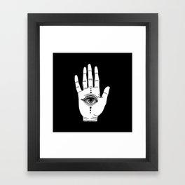 Hamsa Horus Framed Art Print