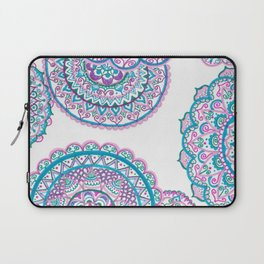 Blues and pink Laptop Sleeve