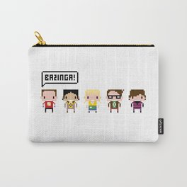 The Big Bang Theory Pixel Characters Carry-All Pouch