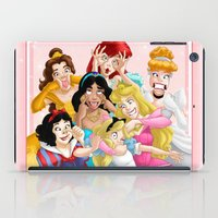 mulan iPad Cases featuring Smile for the Camera by Brianna