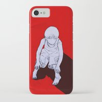 dexter iPhone & iPod Cases featuring Dexter by MRCRMB