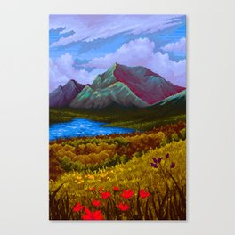 Mountain v2 Canvas Print