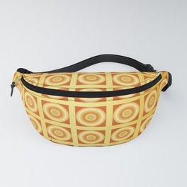 Traditional Japanese pattern BENKEI-GOUSHI-GOLD Fanny Pack