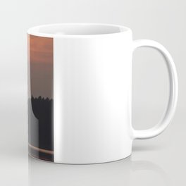 Burning Coffee Mug