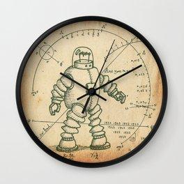 Encyclopedia robots # 44-b Wall Clock