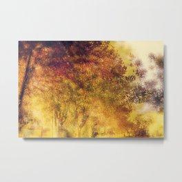 Autumn Aflame Metal Print