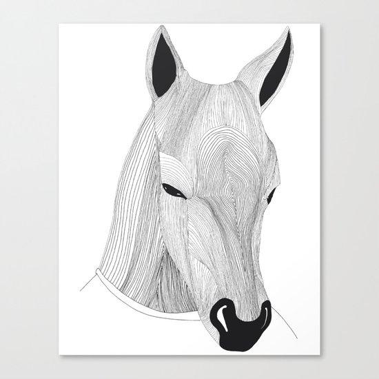-Horse- Canvas Print