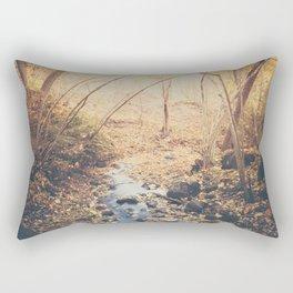 Blue cola mountain Rectangular Pillow