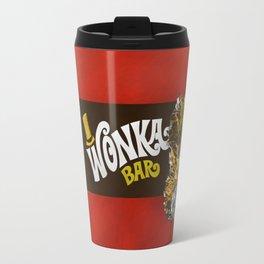 wonka chocolate bar with golden ticket iPhone 4 5 6 7 8, tshirt, mugs and pillow case Travel Mug