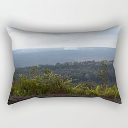 Volcanic island Hawaii Rectangular Pillow