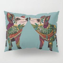 pig love jade Pillow Sham