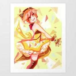 Rin Hoshizura Cyber set 1 of 3 series Art Print