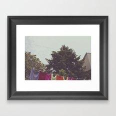 Day fresh Framed Art Print