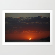 Sunset 1 Art Print