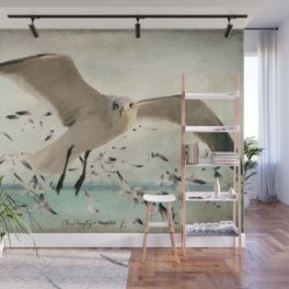 Flight of the Gulls Wall Mural