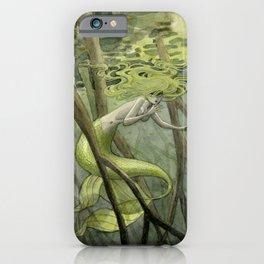Mangrove Mermaid iPhone Case