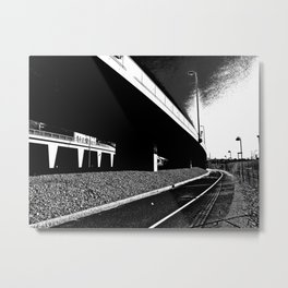 Bridge 3 Metal Print