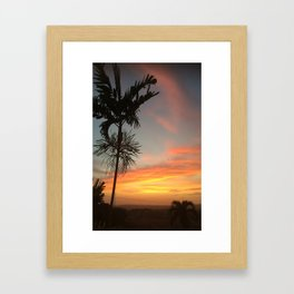 Country Sunsets Framed Art Print