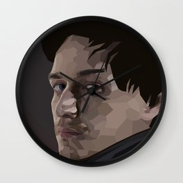 Why? For The Glory of James McAvoy Of Course! Wall Clock