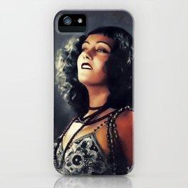 Gloria Swanson, Vintage Actress iPhone Case