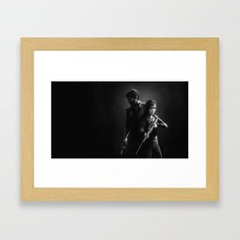The Last of Us - Joel & Ellie Framed Art Print