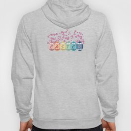 Easter word on eggs Hoody