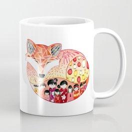 Japanese Summer Fox Coffee Mug