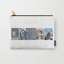 RELAX photo letter art typography Carry-All Pouch
