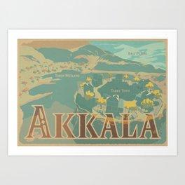 Akkala Art Print