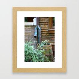 Downspout Framed Art Print