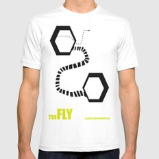 the Fly Mens Fitted Tee White SMALL
