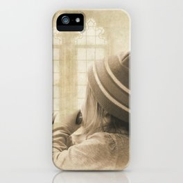 Bless The Children iPhone Case