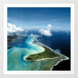 Bora Bora: South Pacific Paradise Art Print