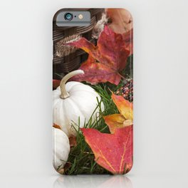 Gourds and Indian Corn 6 iPhone Case