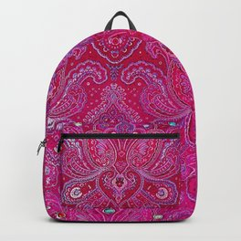 Paisley Jewels Backpack