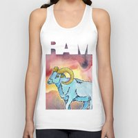 ram Tank Tops featuring RAM by David Napier