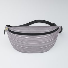 Summer Beach House Whitewashed Purple Pastel Decking Fanny Pack