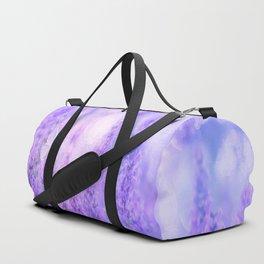 Lavender fields Duffle Bag