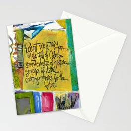 Paint Stationery Cards